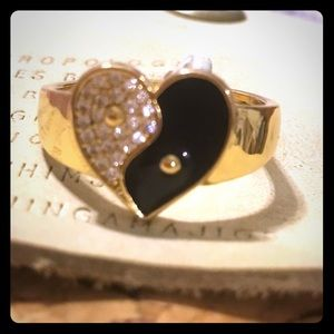 ANTHROPOLOGIE HEART RING